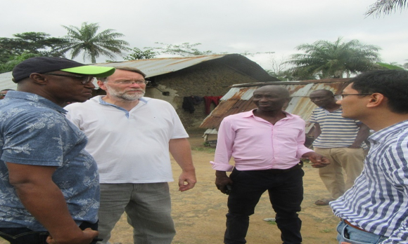MFMR STAFF AND FOREIGN EXPERTS VISIT MAKALI AND BO FISH FARMING EXPERIMENTAL CENTRES By MFMR MEDIA UNIT